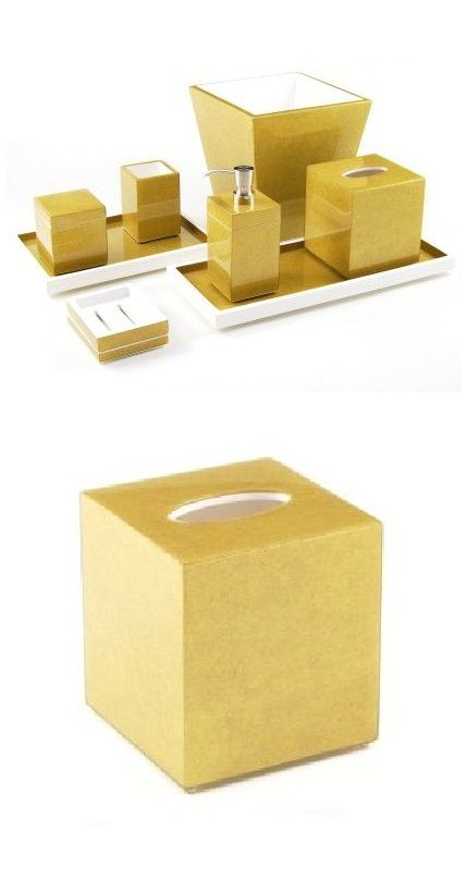 Gold Bathroom | Gold Bath Set | Gold Bath Sets | Gold Bathroom Accessories  | Gold