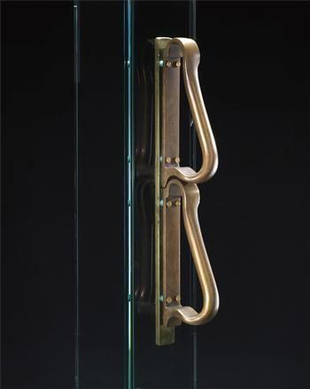 ALVAR AALTO, Door handle, 1952-1957 (via Phillips de Pury)