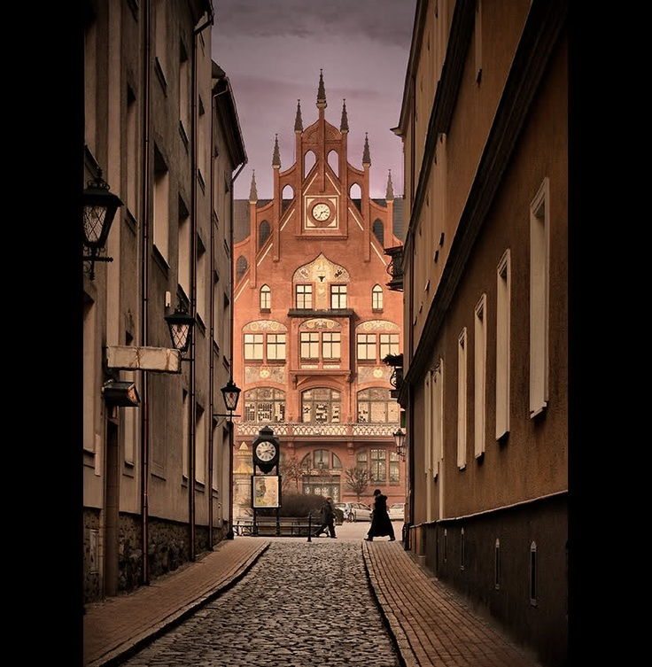 CHOJNICE TOWN HALL-POLAND