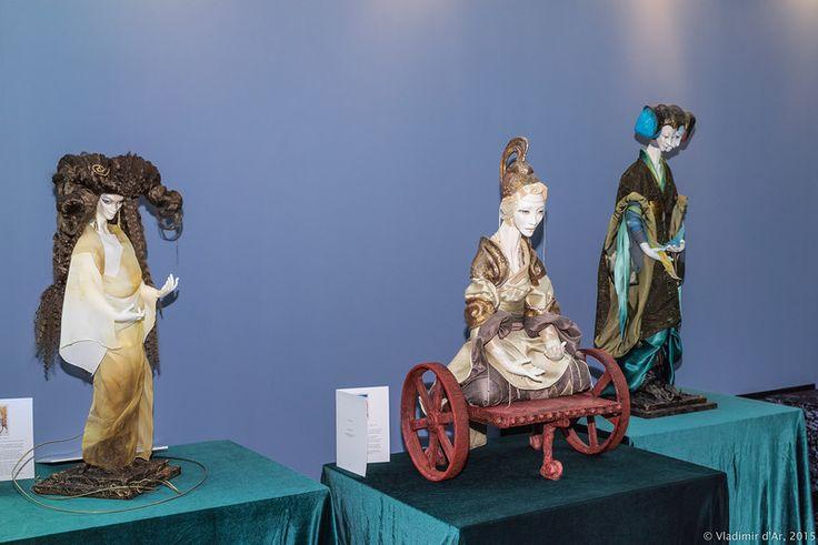 AekaDolls/ porcelain dolls by Elena Alekhina/ Collection Arcanum\ выставка Искусство куклы 2015