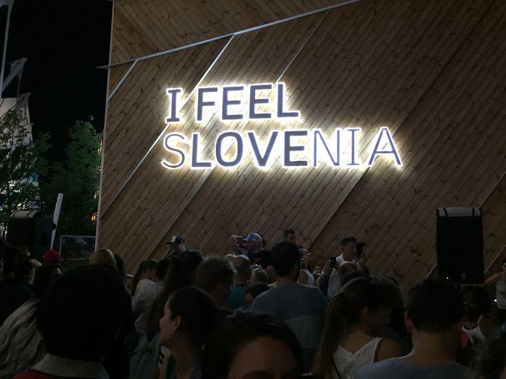 EXPO Milano 2015..Slovenia stand rocks!