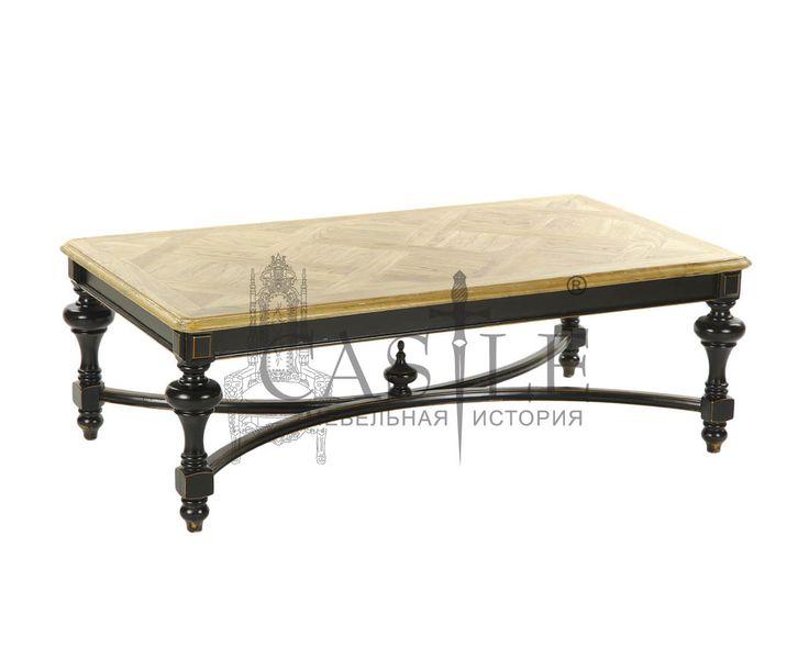 Журнальный столик из массива в стиле Прованс. Стол украшают необычные резные ножки ручной работы. Исполнен в черном цвете с патиной. Столик привнесет нотки уюта и тепла в интерьер гостиной в стиле Кантри или Прованс.