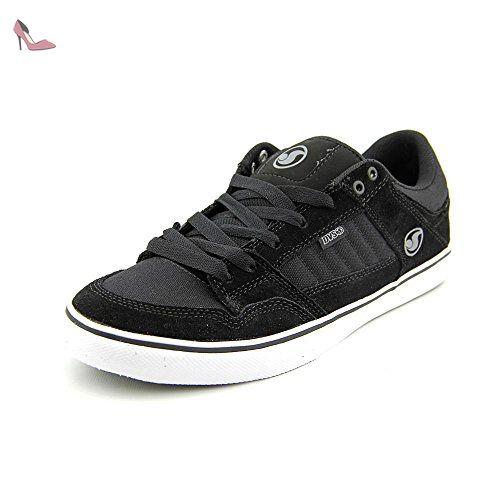 DVS Vapor, Chaussures de skateboard homme - Noir (Black Poster Suede), 41 EU (7 UK) (8 US)DVS