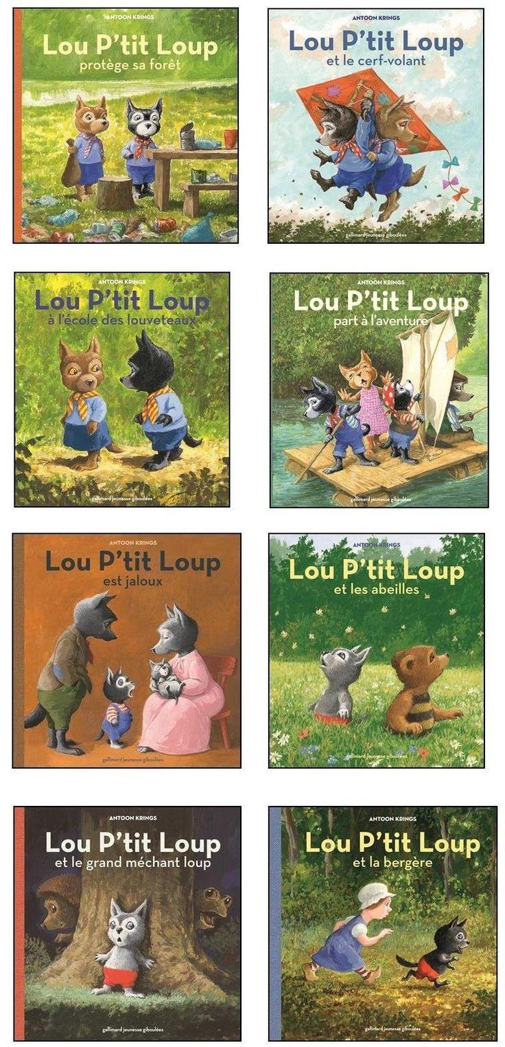 Amazon.fr - Lou P'tit Loup à l'école des louveteaux - Antoon Krings - Livres
