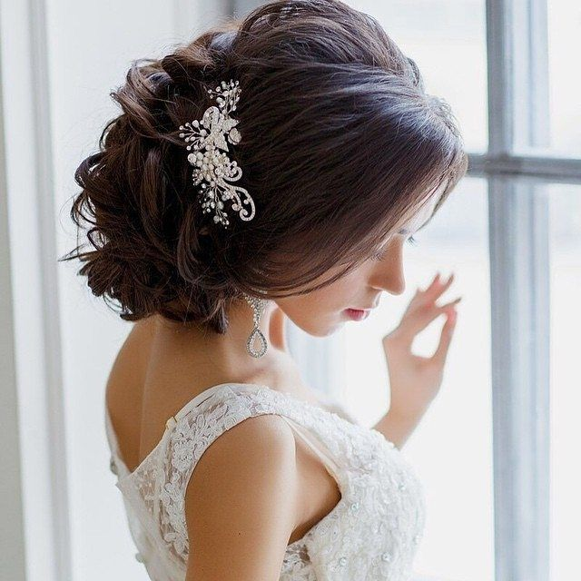Bridal style to swoon for with @elstile. Spectacular updo. #elstile #bridalstyle…