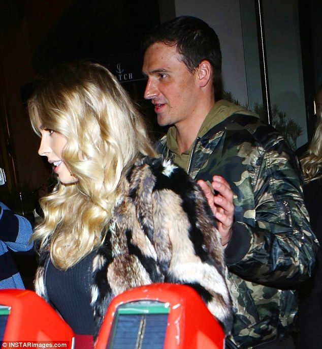 Date night! Olympic athlete Ryan Lochte and model Kayla Rae Reid enjoyed an evening out in Los Angeles on Saturday