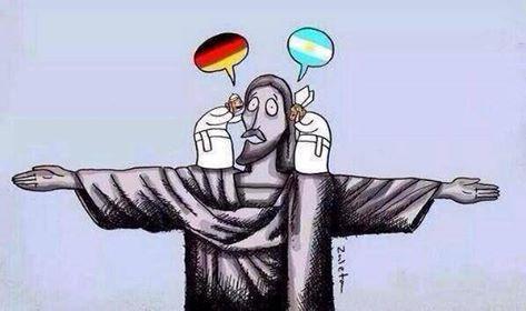 Un recuerdo del mundial Brasil 2014.