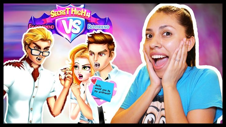 SECRET HIGH SCHOOL LOVE STORY 4: LOVE TRIANGLE! - App Game - YouTube