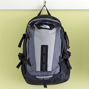 Kids are rough on their backpacks, so the designers of The North Face's Hot Shot crafted a bag that can take all sorts of abuse. The durable ballistic nylon survived being dropped and abraded, and proved water-resistant.