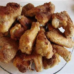 Хрустящие куриные бедрышки в духовке