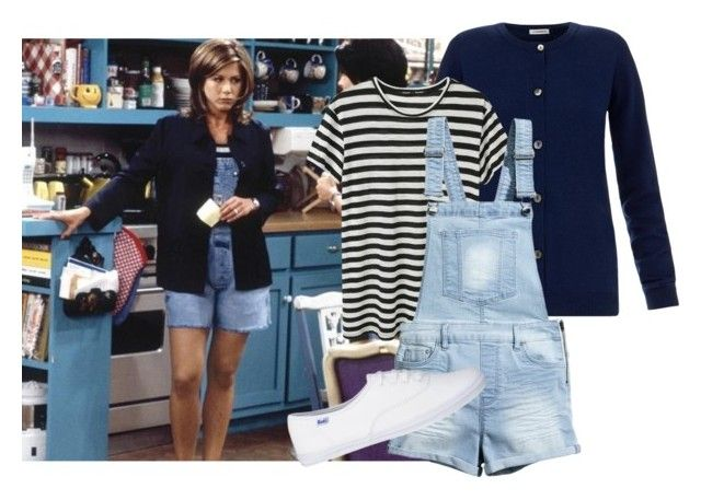 """""""Get the Look: Rachel from Friends"""" by simplyamity ❤ liked on Polyvore featuring J.Lindeberg, Proenza Schouler and H&M"""
