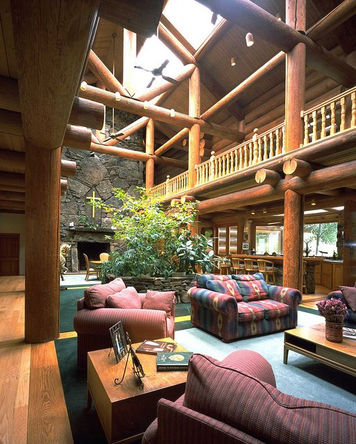 log home interiors. Handcrafted Chink Style Log Lodge  By Caribou Creek Homes Interior By CaribouCreekLogHomes 117 Best Images On Pinterest Home Ideas Rustic