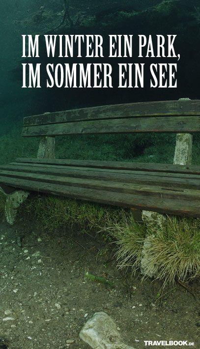 Grüner See in der Steiermark: Im Winter ein Park, im Sommer ein See