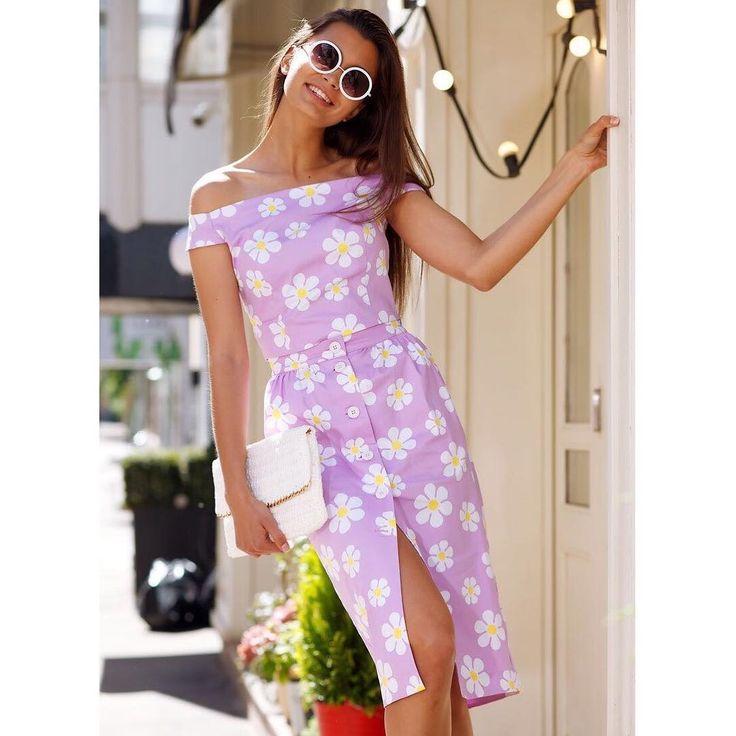 47 отметок «Нравится», 1 комментариев — APOSTYLE ™ ©WA+79175514545 (@style_by_apostyle) в Instagram: «Настраиваемся на тёплое лето 💪🏻😼 Акцент на женственный силуэт и очаровательный цветочный принт…»