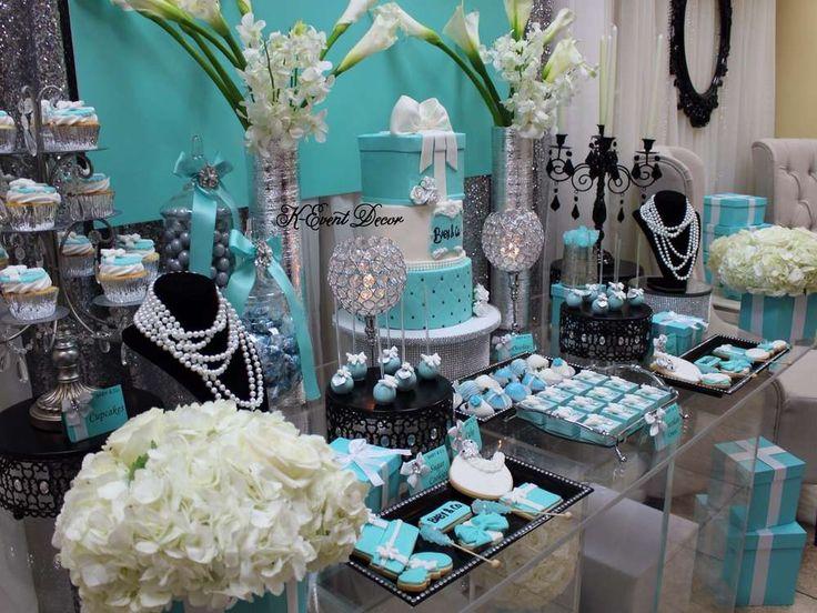 Best 25 Tiffany Baby Shower Ideas Ideas On Pinterest