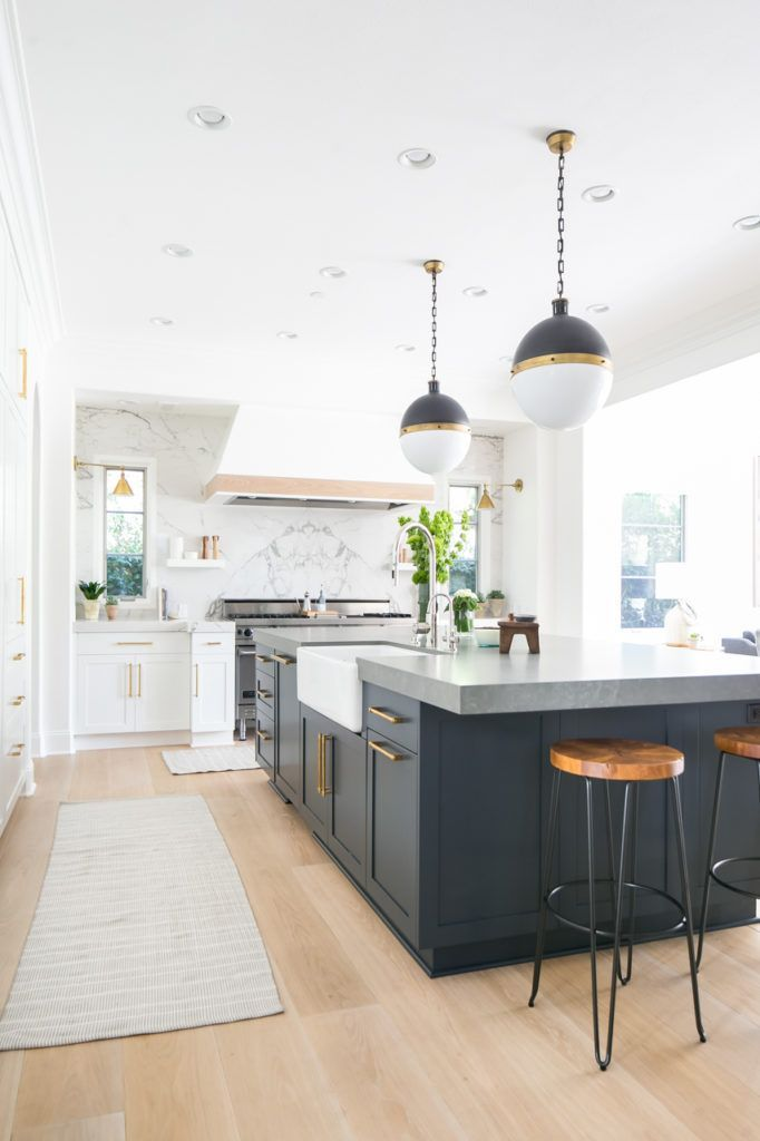10 Top Trends In Kitchen Design For 2018 Home Kitchen Navy