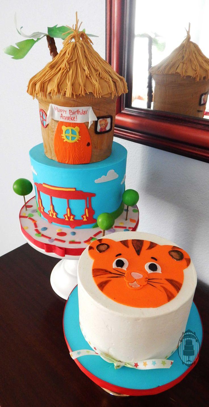 Daniel Tiger cake and smash cake!