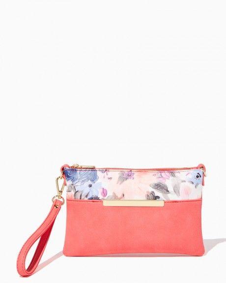Bronte Floral Wristlet | Charming Charlie