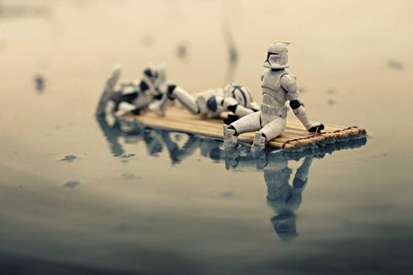 Life as a Stormtrooper by Malaysian photographer Zahir Batin