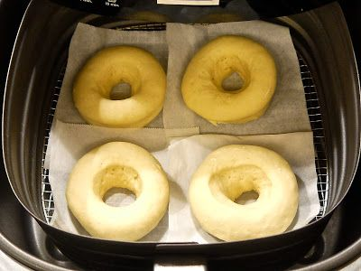 Donuts using the airfryer
