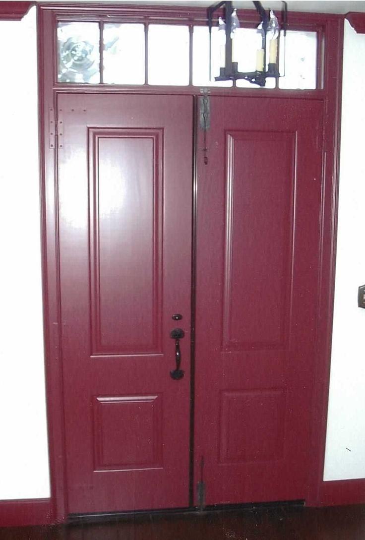 63 best ideas about exterior doors on pinterest glass for Wood front door with storm door