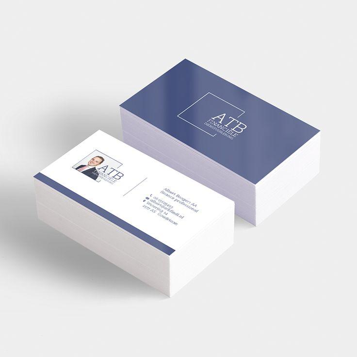 NIEN // Visitekaartjes huisstijl ATB