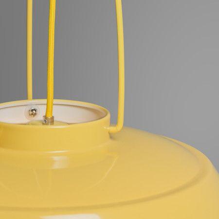 Lampa wisząca Usine żółta