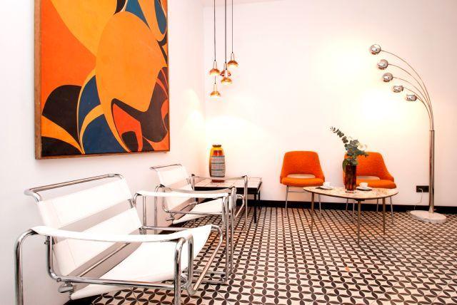 Cement tiles - Project Retrome Barcelona - Hotel