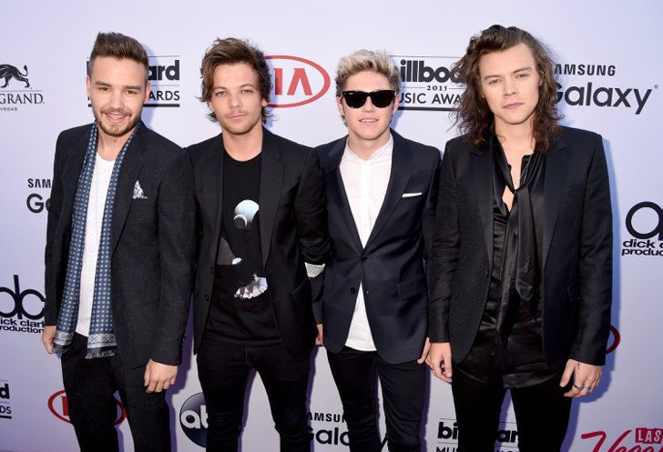 Pin for Later: Le Tapis Rouge des Billboard Awards Était Très Impressionnant One Direction