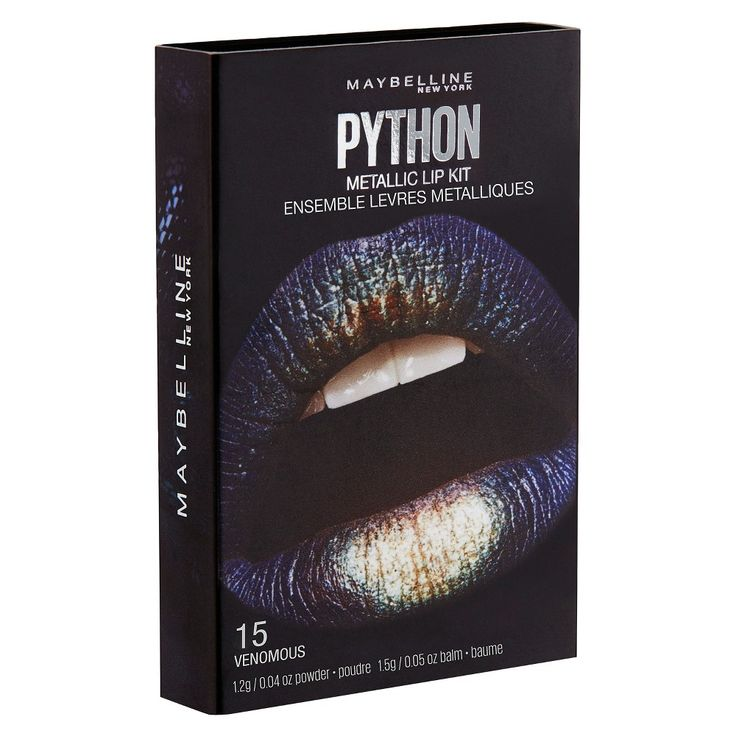 Maybelline Lip Studio Python Chrome 03 Shade 3 0.08 oz, Gold