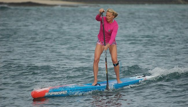 """New Release Sonni Hönscheid, the three-time (2014-2016) SUP World champion, is joining the Starboard team. """"We are stoked to see Sonni Hönscheid joining our Starboard team. The mix of her exciting artistic work and amazing…"""