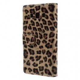 Galaxy A3 leopardi puhelinlompakko