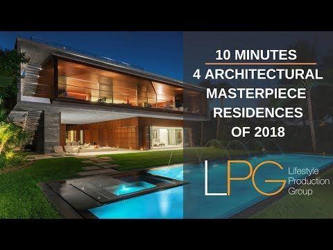 Impressionantes casas arquitetônicas de Miami: Mega Video imperdível – Produção de estilo de vida …   – CASAS
