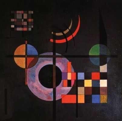 Gravitation, par Wassily Kandinsky