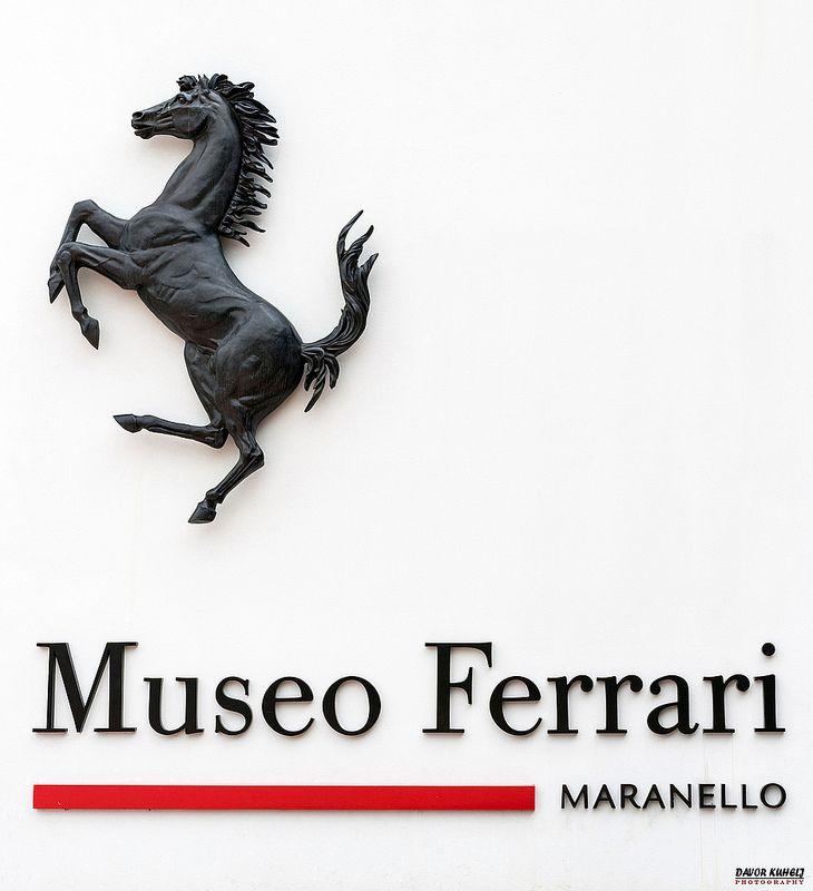 Ferrari Museum (Museo Ferrari) in Maranello, Italy.  Address: Via Dino Ferrari, 43, 41053 Maranello, Modena Modena, Italy
