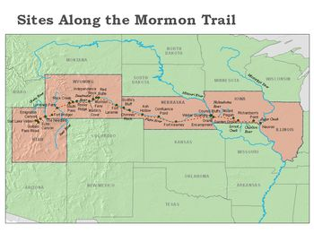 mormon pioneers | and talk about Mormon Trail, Jefferson Territory, Mormon Trail, Mormon ...