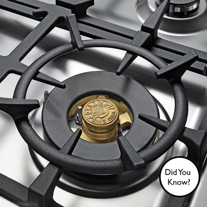 #DidYouKnow? Bertazzoni burners are cast in brass for enhanced performance, with the dual control brass power burner delivering best-in-class heat-up times and maximum flexibility.
