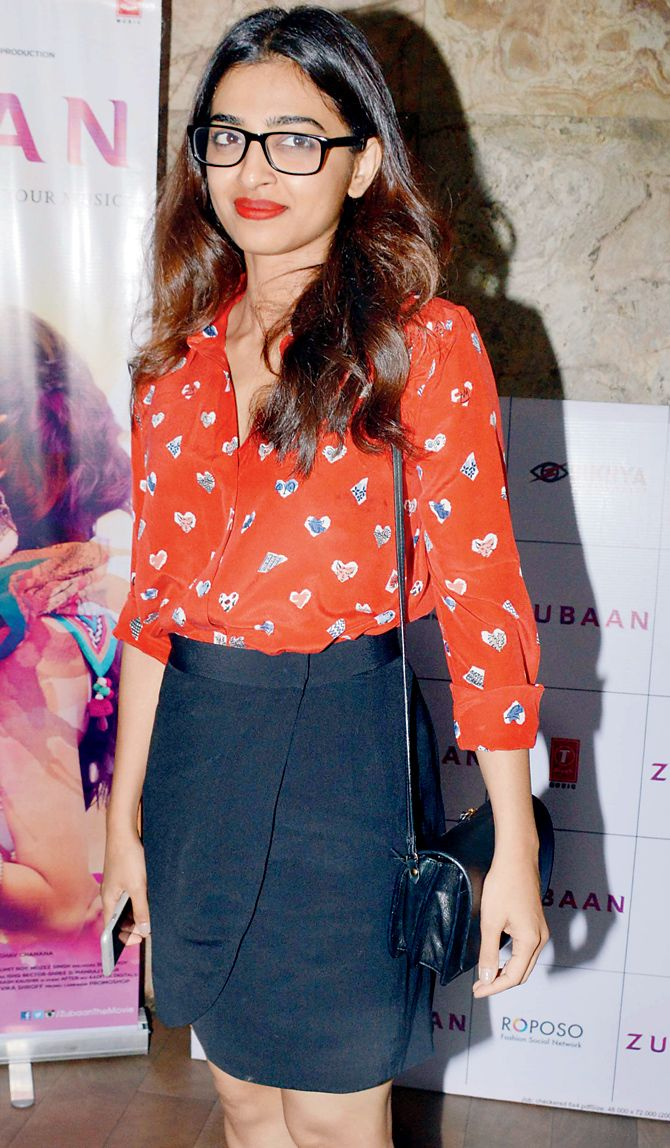Radhika Apte at the screening of #Zubaan. #Bollywood #Fashion #Style #Beauty #Hot #Marathi