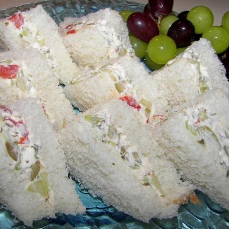 Grandma s cucumber tea sandwiches recipe parties pinterest