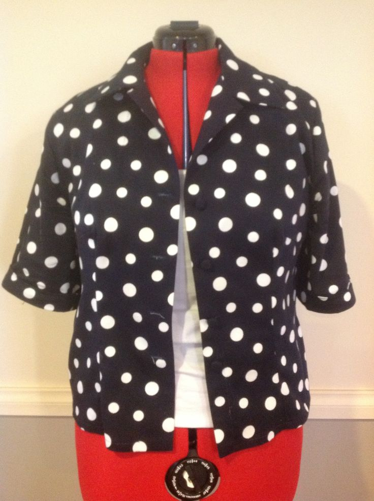 Spotted shirt made by Christeen from  Sew n sew sewing school Www.sewnsewsewingschool.net.au