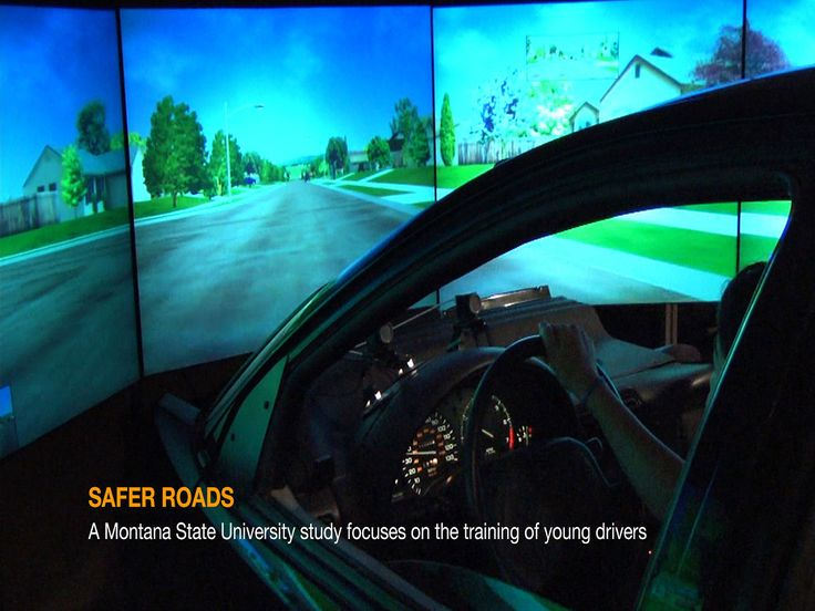 Safer Roads: A Montana State University study focuses on the training of young drivers
