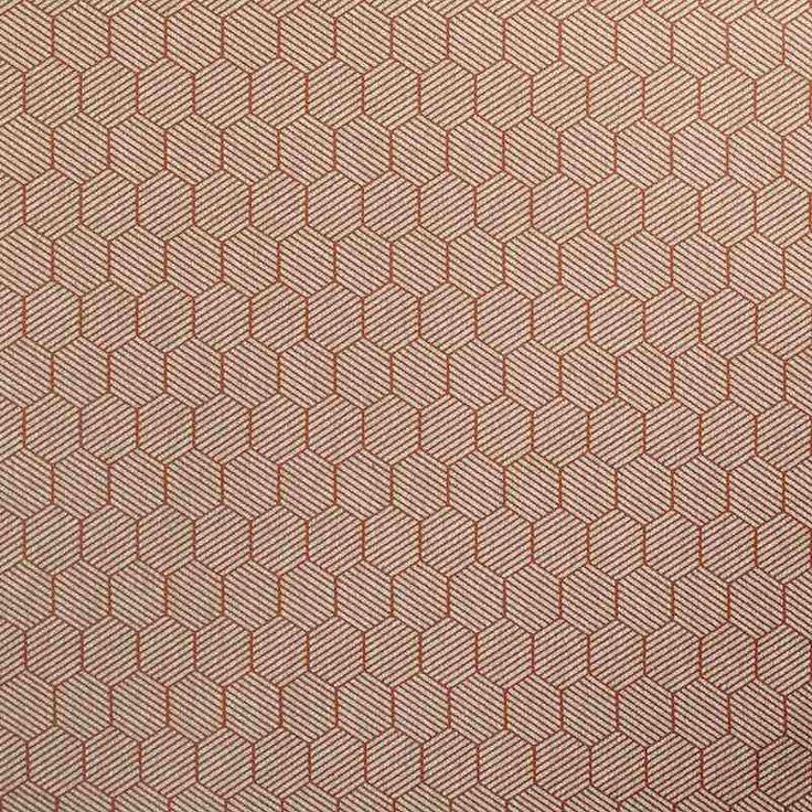 Warwick Fabrics : BUXTON, Colour FLAME