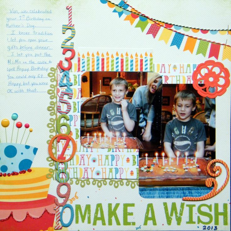 Make a Wish - Scrapbook.com