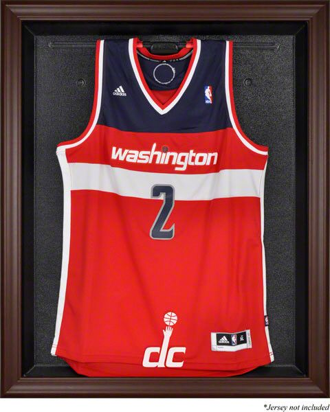 Washington Wizards Framed Logo Jersey Display Case