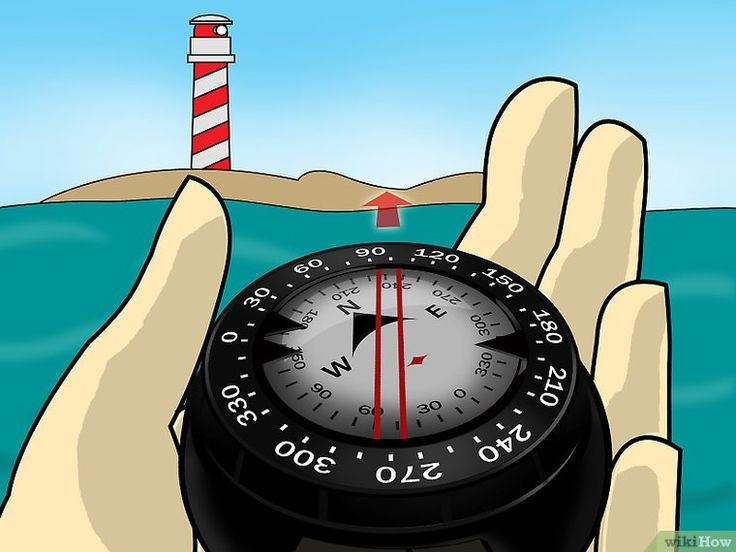 How to Use an Underwater Compass: 3 Steps (with Pictures)