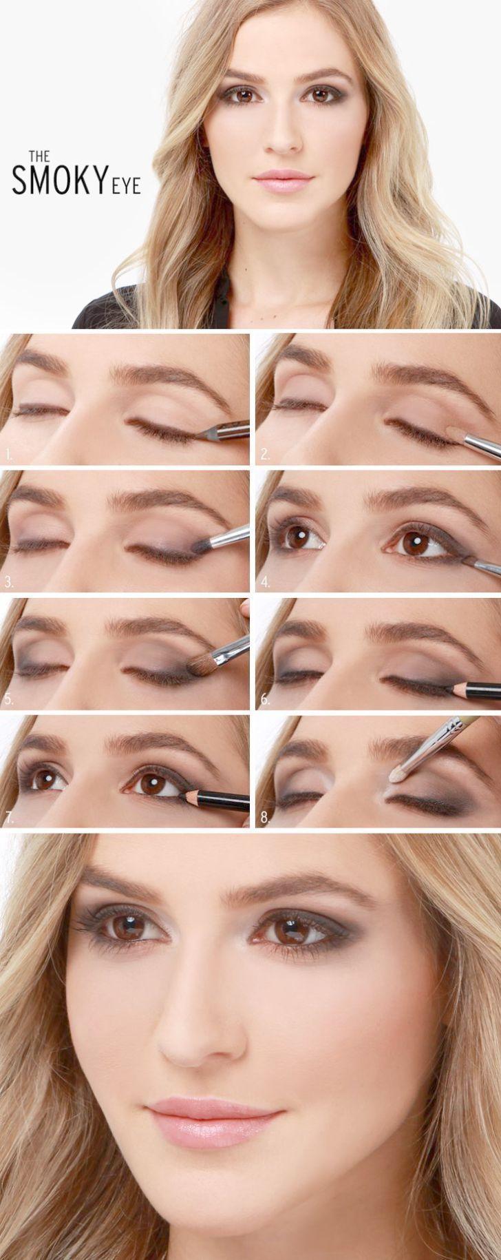 Smokey Eye Makeup Tips save Smokey Eye Makeup Steps a