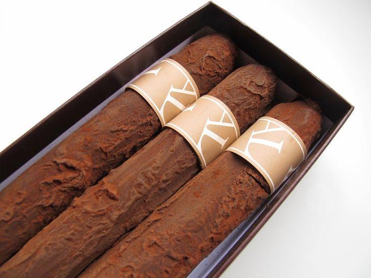 Cigares au chocolat (Arnaud Larher)