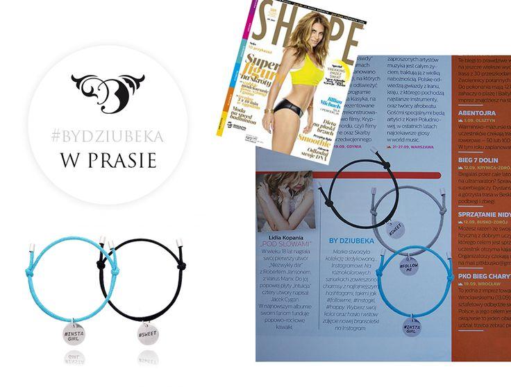 By Dziubeka w Shape :) #bydziubeka #jewerly # #fashion #style #magazine #pressroom #press