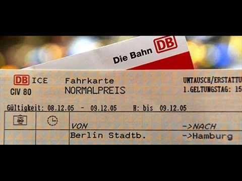 Deutsch Lernen - Bahnticket nach Berlin - YouTube