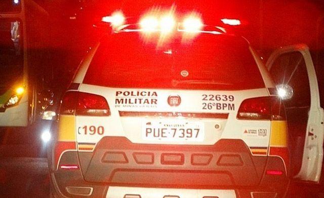 Criminosos trocam tiros com a PM após arrombar duas agências bancárias em Pirajuba MG